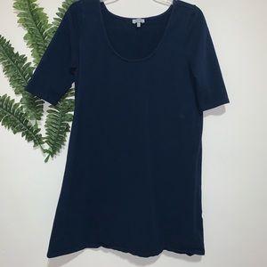 TOBI Dress A-Line Blue EUC